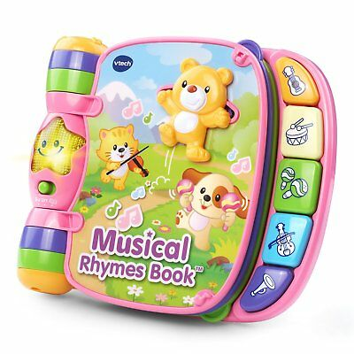 Toddler Learning Book Educational Music Development Baby Girl Interactive Toy