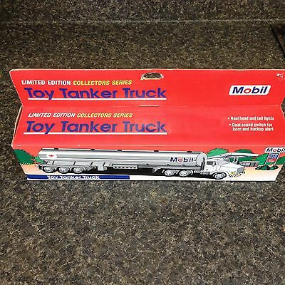 Limited Edition 1993 Mobil Toy Tanker Truck – NIB