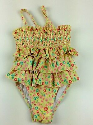 Circo Girls One-Piece & Two-Piece Floral Print Ruffle Swimsuit Size 4T Lot of 2