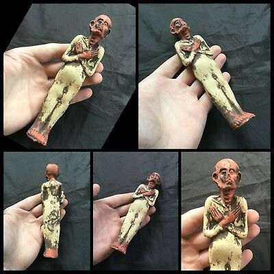 Rare Ancient Egyptian Ptolemaic Terracotta Ushabti Shabti New Kingdom.c1272-1189