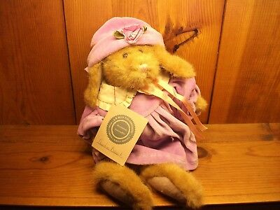 Boyds Bears & Friends Auntie Babbit Investment Collection  1996 Plush new