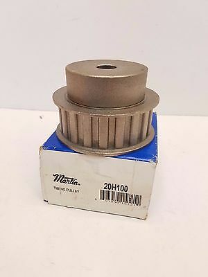 """Lot of 2 Martin Timing Pulley 20H100 Belt Width: 1"""", 3/4"""", 20 Teeth O.D.-3-3/8"""""""