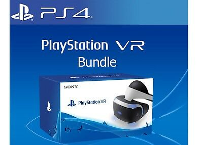 Sony PlayStation PS 4 VR Virtual Reality Brille PS4 HEADSET 3D Brille NEU OVP
