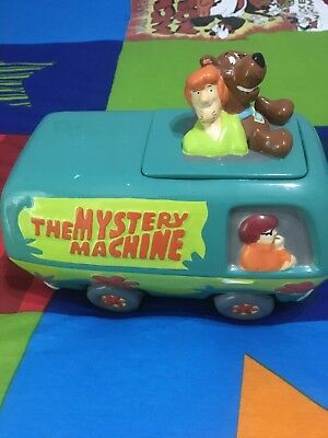 Scooby Doo & Shaggy...The Mystery Machine Van Cookie Jar...Pre-Owned 1998