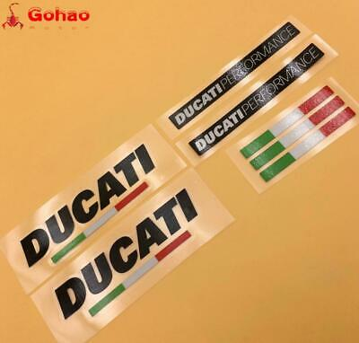 Decal Stickers Set for Ducati Performance Course Evo Racing Motorcycle Bikes New