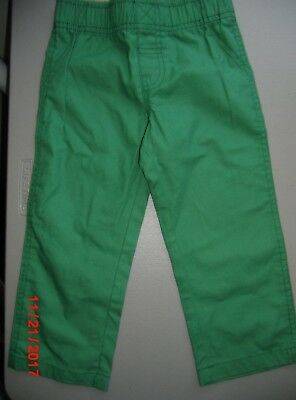NWOT Carter's Size 2T Pull on Green Pants