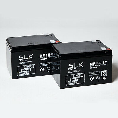 MOBILITY SCOOTER BATTERIES AGM/GEL1 PAIR 12v 12AH 15AH 24 33AH 36 40 50 55 75AH