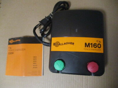 Gallagher M160 Electric Fence 60-100 Acres 11-30 Miles Fencer Charger G330444