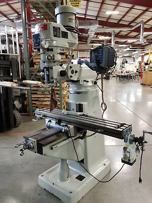 MSC Vertical milling machine- Excellent condition 9 x 42 table with power feed