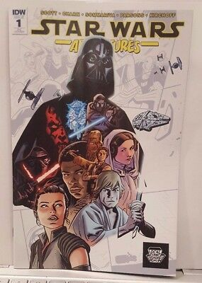 LCSD 2017 Star Wars Adventures #1 Variant IDW FREE SHIPPING