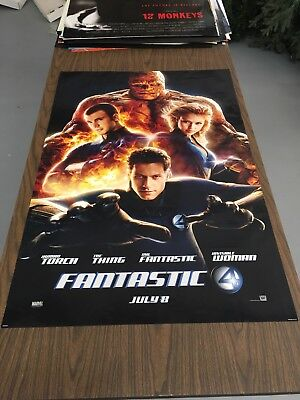 FANTASTIC FOUR- 27x40 Original DS Movie Poster - Jessica Alba
