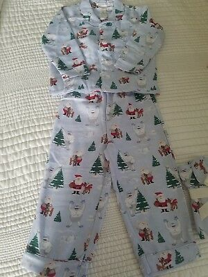 NWOT Pottery Barn Kids Size 4 Rudolph And Bumble Flannel Pajamas Christmas Set