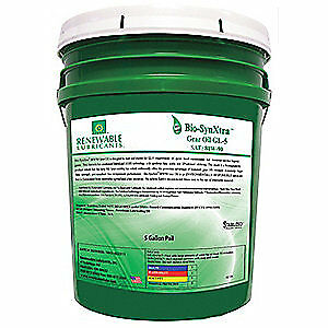 RENEWABLE LUBRICANTS Bio-Based High Temperature Oil,5 Gal, 82134, Yellow