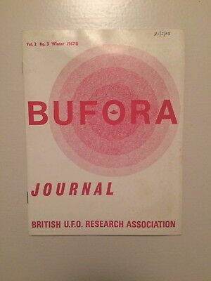 Bufora Journal UFO Magazine Vol 2 No3 1967/8