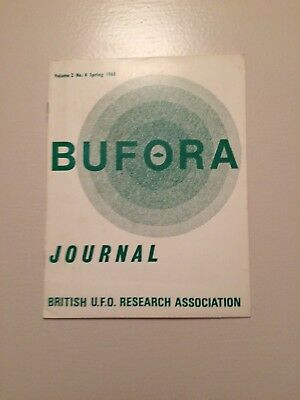 Bufora Journal Vol2 No4 Spring 1968 Ufo Magazine