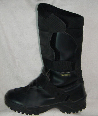 Tuareg Skywalk membrane Sheltrek motorcycle boots Leather Black UK 6 EU 39
