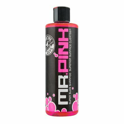 Chemical Guys MR. PINK Super Suds Shampoo Superior Surface Cleanser 16 oz