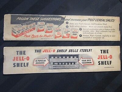 Vintage General Foods Jell-O  Slide Rule Profit And Inventory Calculator
