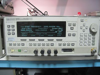 Hp Agilent Keysight 83640A 8360 Synthesized Sweeper 10Mhz-40Ghz Opt 001/008