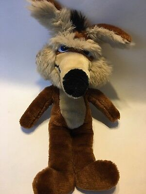 "1971 MIGHTY STAR, WARNER BROS. CHARACTERS WILE E. COYOTE PLUSH 18"" Road Runner"