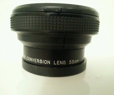 Raynox Hd-6600pro55 Conversion wide angle Lens - 55 mm attachment - 0.66x