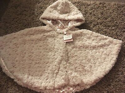 M&Co NEW Girls Poncho 18-24 Months