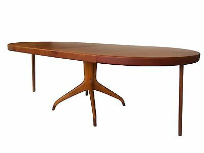 Mid Century Modern Teak Dining Table by David Rosen for Nordiska Kompaniet NICE!