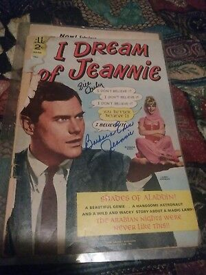 I Dream of Jeannie  #1 Poor Autographed by Barbara Eden and Bill Dailey 04-1966