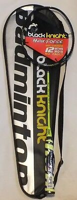 NEW  Black Knight Maxforce Hex 77xl badminton Racquet