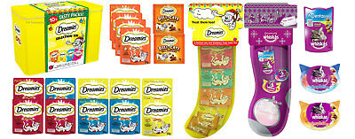 Cat Christmas Stockings & Tins Festive Deals Whiskas & Dreamies