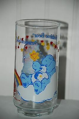 Vintage 1 Glass Care Bears Dodonours Bedtime Bear American Greetings 1984