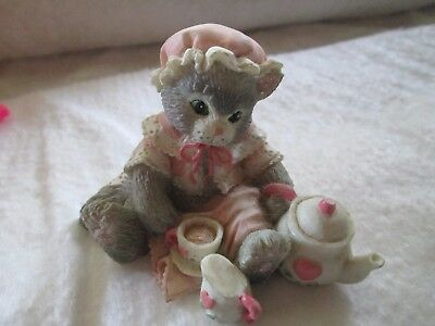 "Vintage Enesco Calico Kittens ""Tea and You Hit the Spot"""