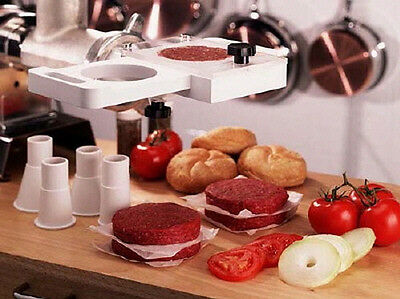 Weston Rapid Patty Maker Hamburger 07-0901-W Press Meat Grinder Stuffer
