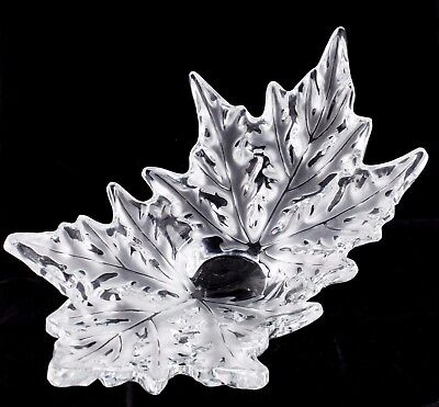 Lalique Champs Elysees Crystal Bowl Clear Color Retails for $3500 Great Deal!