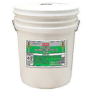 CRC Synthetic Gear Oil,5 gal.,ISO 150,Pail, 04570, Clear