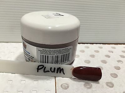 NAIL DIPPING POWDER: PLUM. SNS Compatible- NEW: 30gm