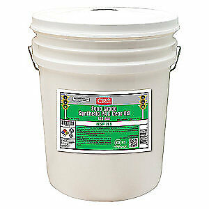 CRC Synthetic Gear Oil,5 gal.,ISO 680,Pail, 04578, Clear