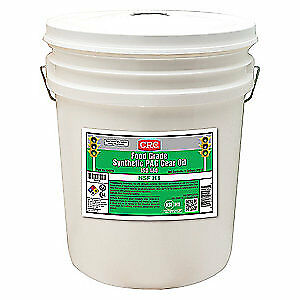 CRC Synthetic Gear Oil,5 gal.,ISO 460,Pail, 04576, Clear