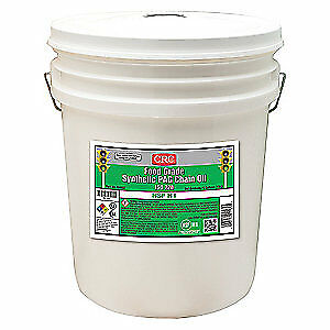 CRC Synthetic Gear Oil,5 gal.,85W SAE Grade, 04582, Clear
