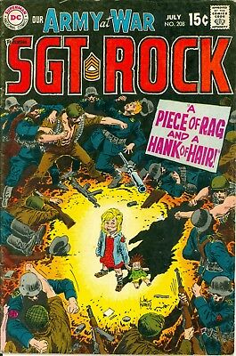 Our Army at War #208. Jul 1969. DC. Starring Sgt. Rock. GD/VG.