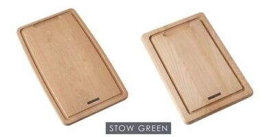Stow Green Beech Wood Shaped Chopping Boards Medium or Large