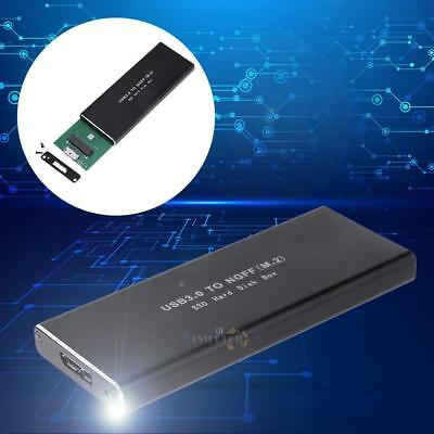 USB3.0 HDD Hard Drive M.2 NGFF TO USB SSD SATA High Speed Mobile Disk Box Cases