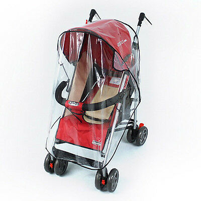 1*Universal Wind Rain Cover Wind Dust Shield Waterproof Cover For Baby Stroller