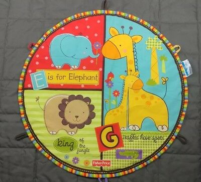 Fisher Price Luv U Zoo Deluxe Baby Gear Play Mat replacement mat