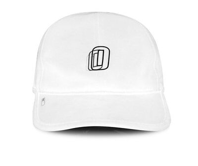 Official Cap Miles Silvas ProTech White 6 Panel Unstructured Skateboard Hat
