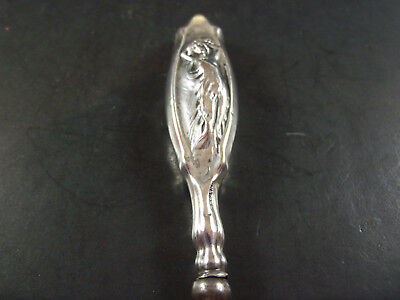 Beautiful Sterling Silver Maiden Shoehorn