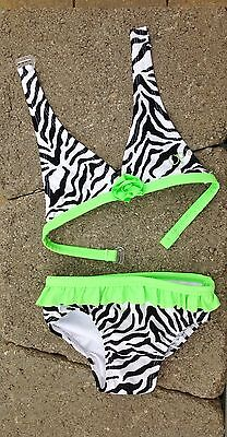 Baby Girl OP 2 Piece Swimsuit Size 24M Animal Print NWOT