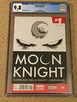 Moon Knight 1 CGC 9.8 White Pages