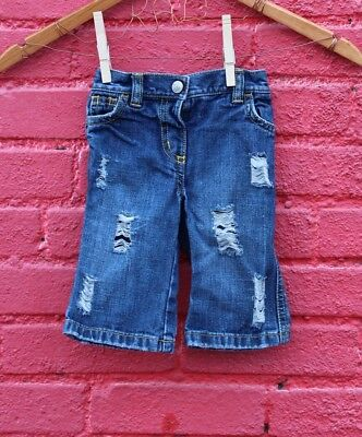 Jeans 3-6 Months Baby Ripped Distressed Old Navy Girls Boys Neutral Custom