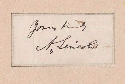 President Abraham Lincoln Autograph Psa/dna Certified Authentic Signed Rare!